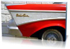 Постер автомобили Автомобиль belair-1435638