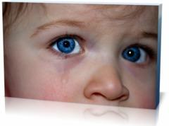 Холст детство  Детские-глаз
