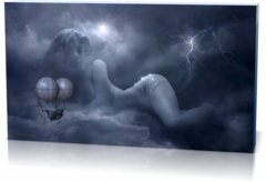 Картина в спальню Облака-clouds-2494760