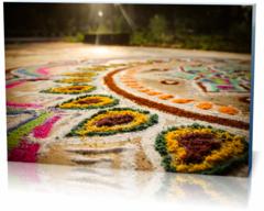 Картина этнические Цветной ковер  colors-958810