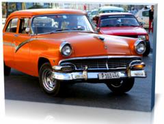 Холст автомобили Автомобиль Куба cuba-2422956