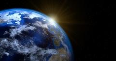 Холст Планета с космоса