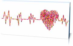 "Холст ""ЭКГ-electrocardiogram-2858693"" артпостеры"