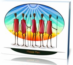 Картина этнические Мужчины Масаи men-1084858