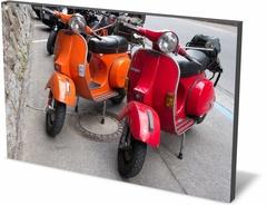 Картина ретро Мопед Motor-scooter-246870