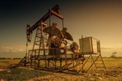 Картина добыча нефти oilrig