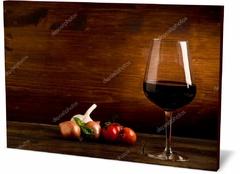 Картина еда и напитки Винный бокал Wine glass-3010887