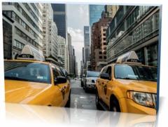 Постер автомобили Такси taxi-cab-381233