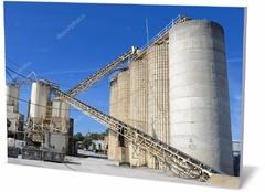 Постер промышленность Цементный завод Cement factory-315578